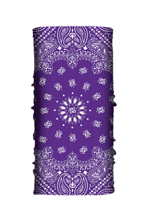 Purple Paisley Soaker Series EZ Tube