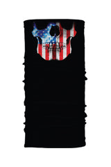 American Flag Skull Jaw Soaker Series EZ Tube