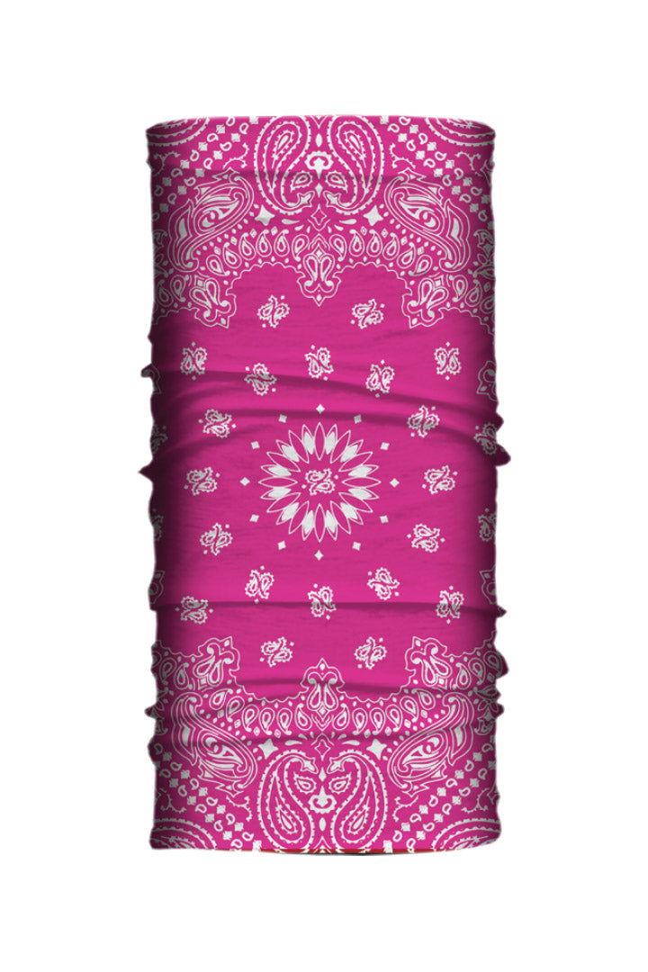 Hot Pink Paisley Soaker Series EZ Tube
