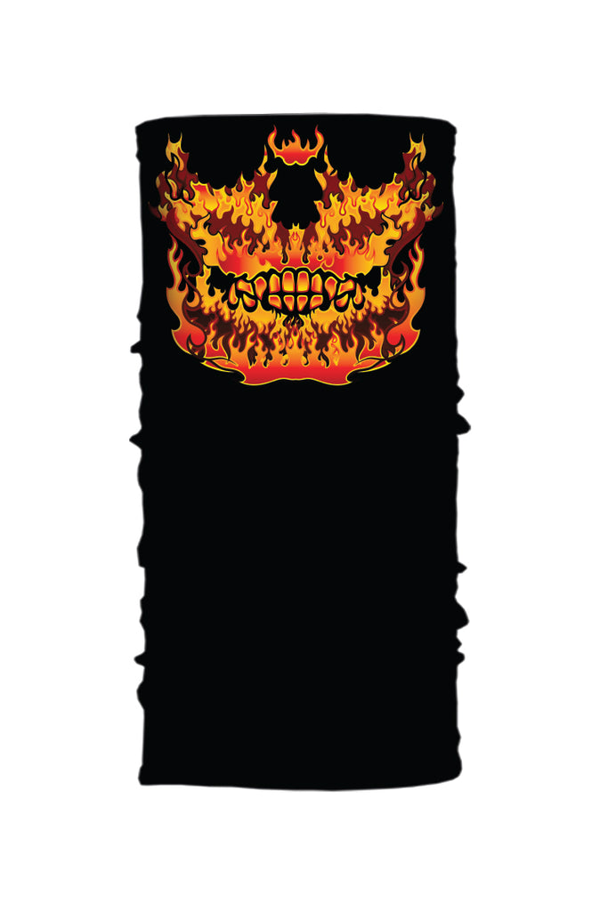 Flame Skull Jaw Soaker Series EZ Tube