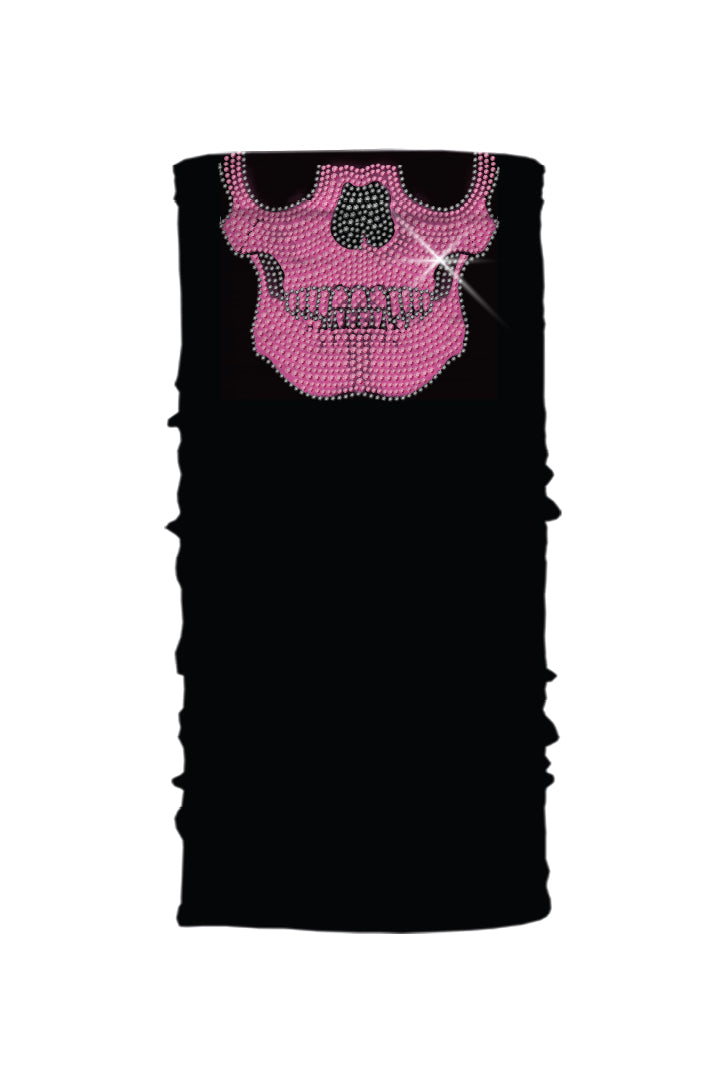 Super Bling Skull-Pink Soaker Series EZ Tube
