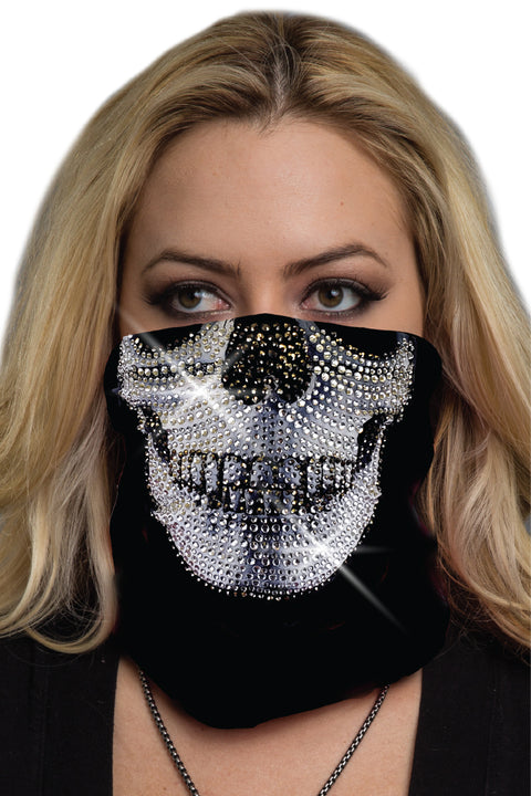 Super Bling Skull-White Soaker Series EZ Tube
