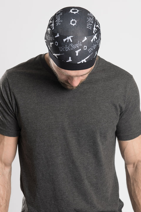 2nd Amendment Skull Cap Soaker