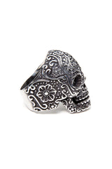 - Stainless Steel Ring - Sugar Skull Ring - 3