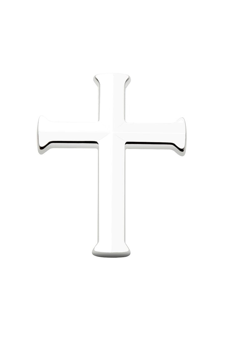 Chrome Cross Pin