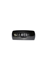 SAMCRO Polished Black Nickel Hair Ringz