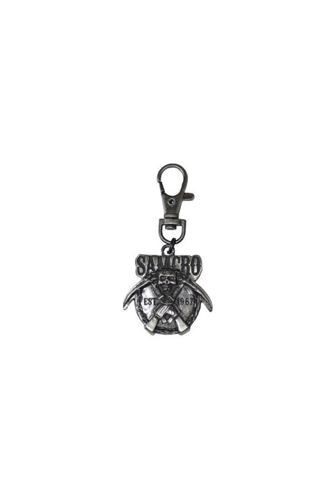 - Jacket Zipper Pull - SAMCRO Est 1967 Chains Zipper Pull