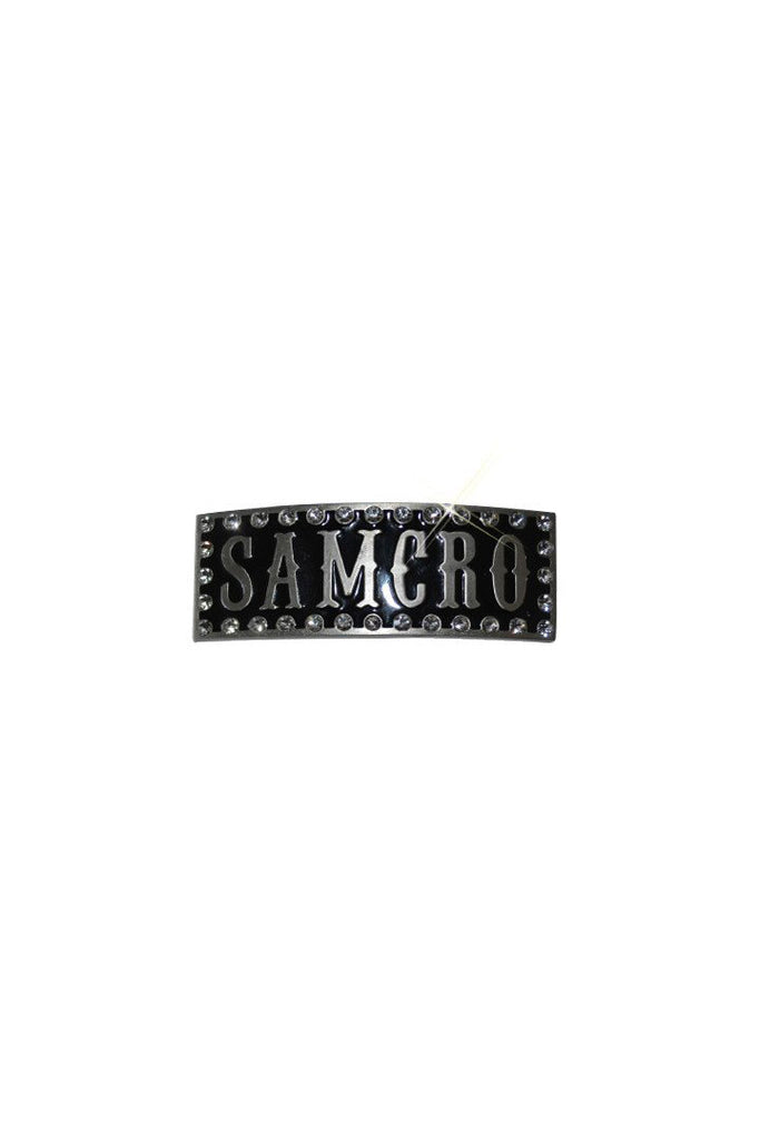 SOA SAMCRO with Bling Frame Barrette