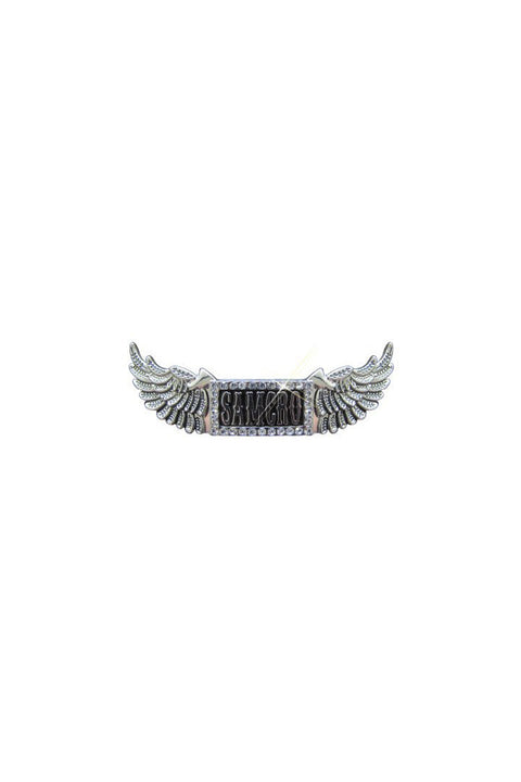 SOA SAMCRO Bling Frame with Wings Barrette