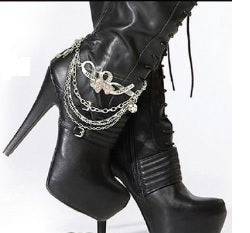 Hope and Faith Boot Chain Jewelry