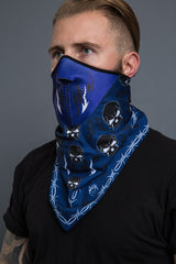 - Bandana Mask - Tribal Skull Bandana Mask - 1