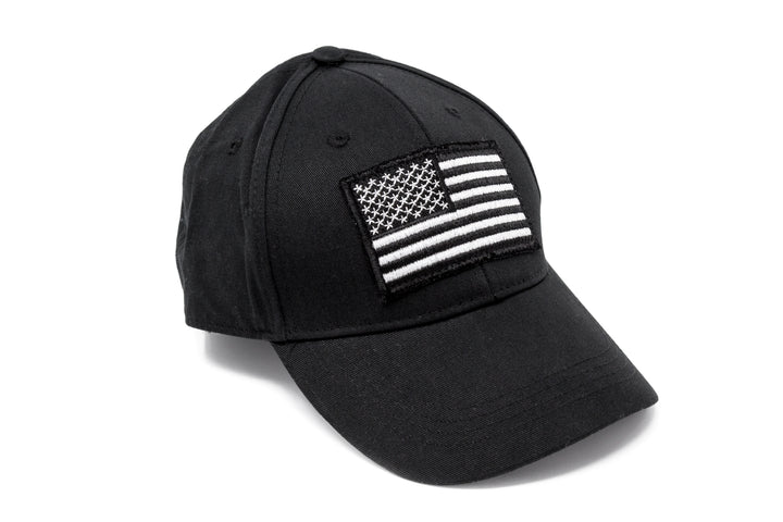 American Flag Patch w/RIDE FREE CAP