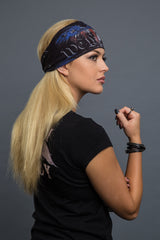 - Headband - We The People Eagle Reversible EZ Bandz - Hair Glove - 2