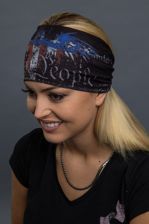 - Headband - We The People Eagle Reversible EZ Bandz - Hair Glove - 3