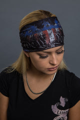 - Headband - We The People Eagle Reversible EZ Bandz - Hair Glove - 4