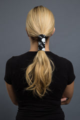 - Ponytail Holder - Skeleton Neoprene Hair Glove - 3