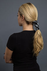 - Ponytail Holder - Skeleton Neoprene Hair Glove - 4