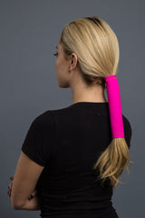 Fuchsia / 8 inch / Standard - Ponytail Holder - Classic Neoprene Hair Glove - 6
