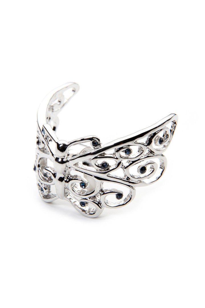 - Hair Pin - Butterfly Sculpture Hair Ringz - 1