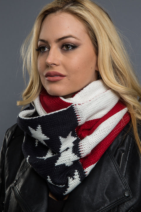 - Scarf - Star and Stripes Scarf - 4