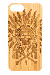 Native King Bamboo Wood -iPhone/Samsung