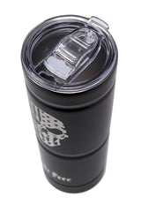Stainless Steel Tumbler Black RIDE FREE (25.4 oz)
