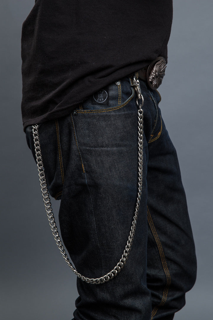 "- Wallet Chains - 35"" Twisted Link Wallet Chain - 1"