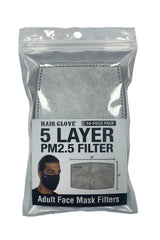 Adult Face Mask  5 Layer PM2.5 Filter- 10 Pcs Pack