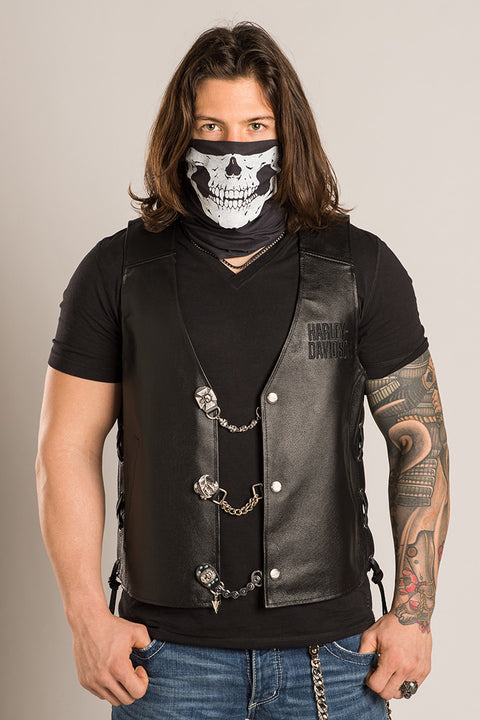 - Multi-Functional Headwear - Defleshed Skull EZ Tube - 2