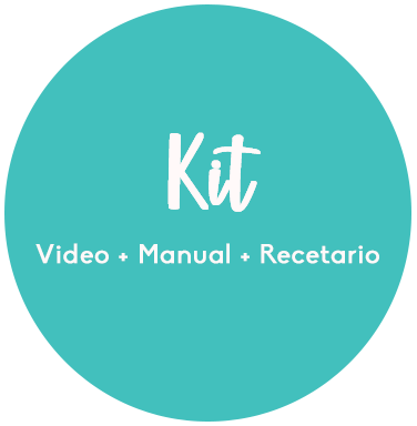 Kit Picky Eaters: Curso + Manual + Recetario