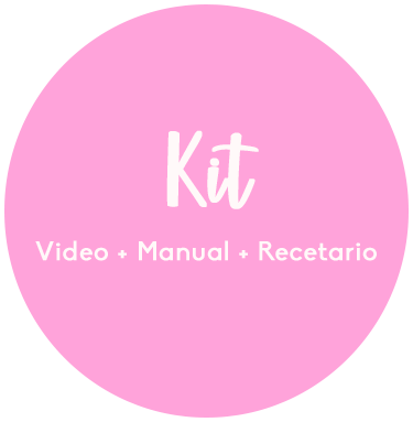 Kit Buenos Hábitos Maternos: Curso + Manual + Recetario