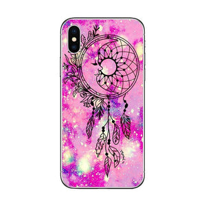 Coque Attrape-Rêve iPhone Rose