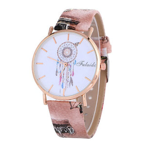 montre attrape reve marron