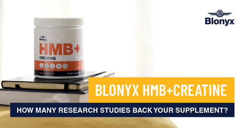 Blonyx HMB and creatine is backed by research