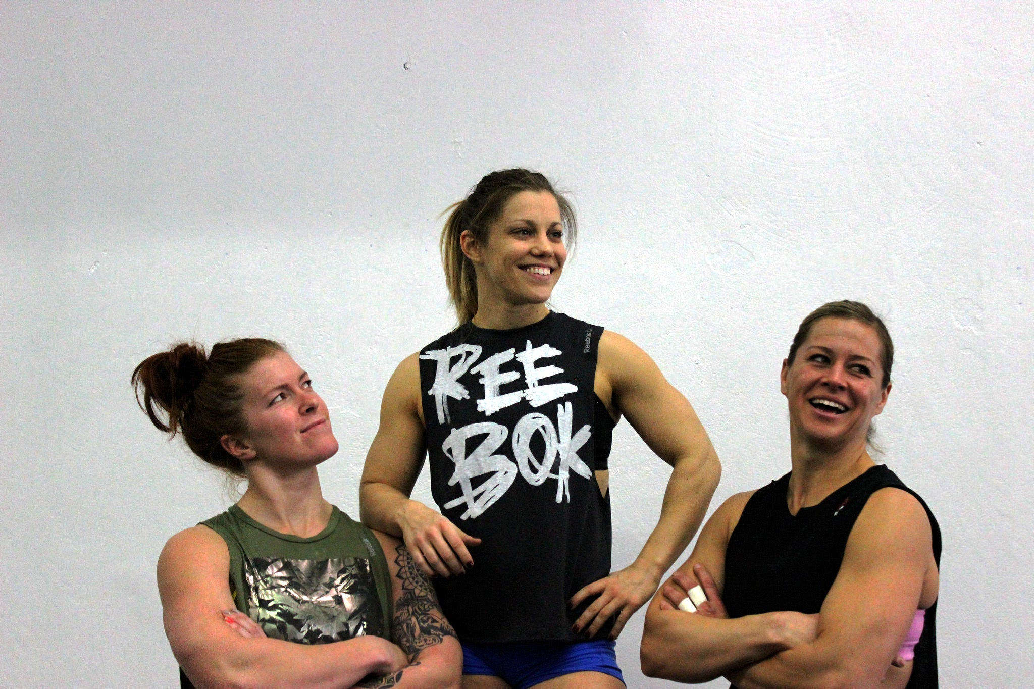 Michele Letendre, Becca Voigt and Emily Abbott training together. Via the Blonyx Blog