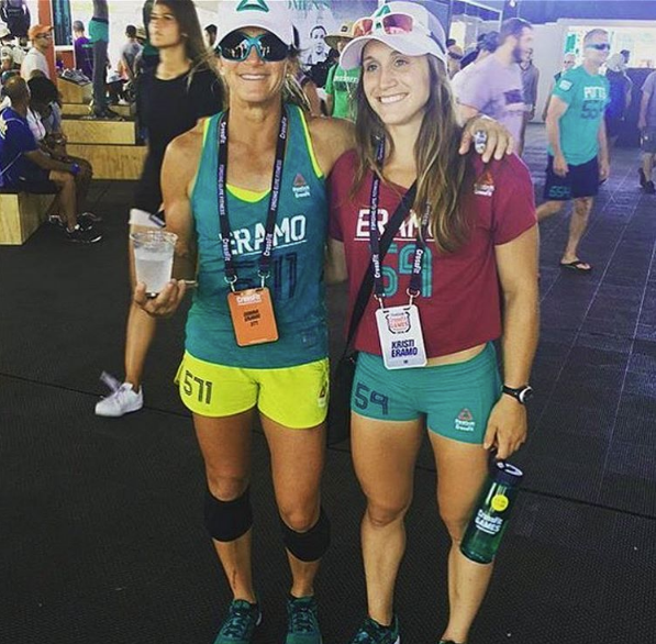 Kristi and Donna Eramo, Masters and Individual CrossFit Games 2016 via the Blonyx Blog
