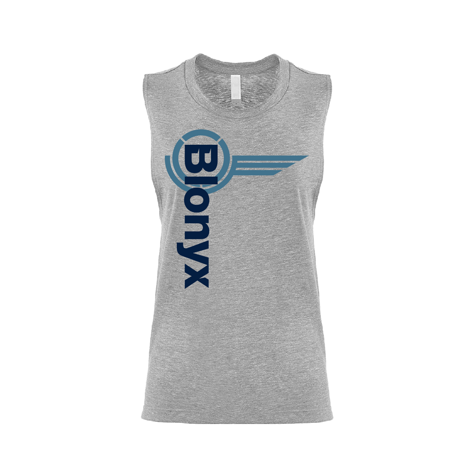 Blonyx S15 Women' Muscle Tank - Gray
