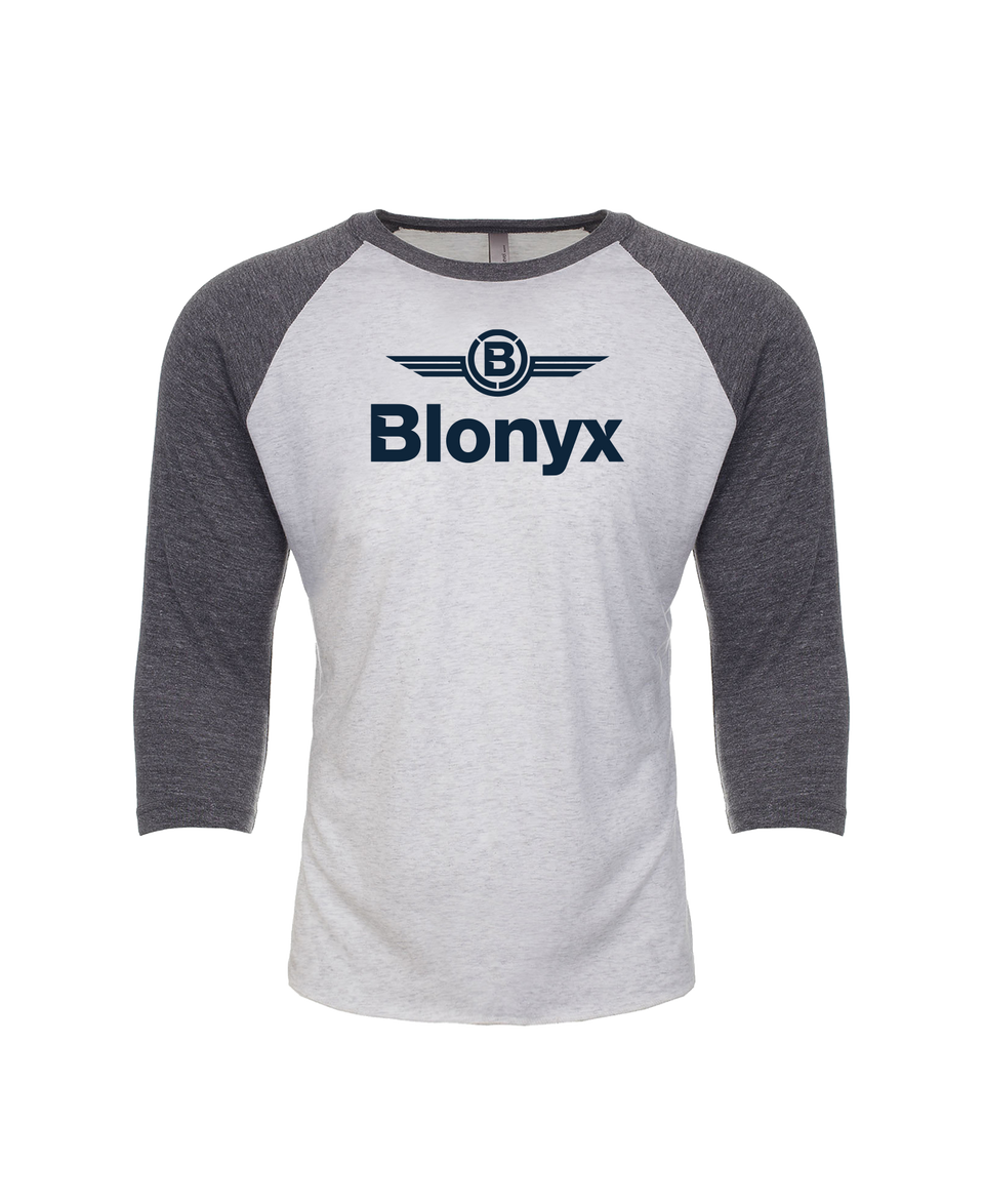 Blonyx S15 Baseball T - Heather White/ Premium Heather