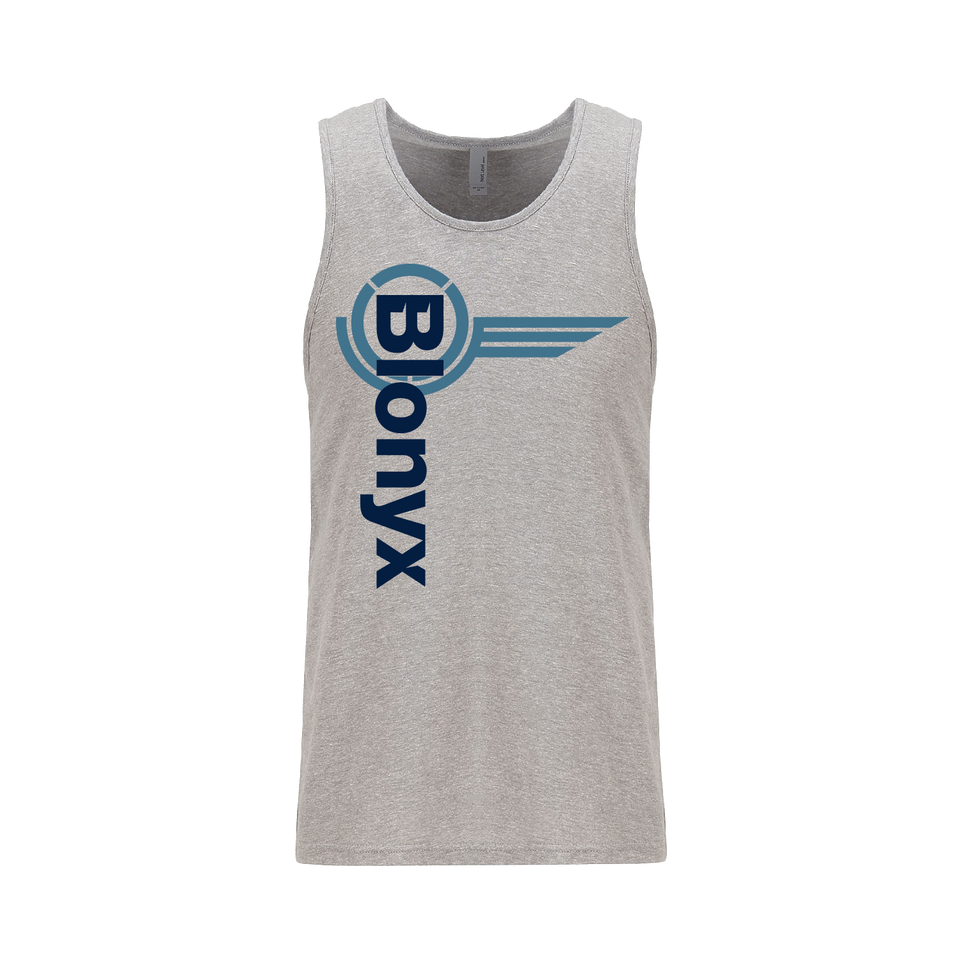 Blonyx S15 Man Tank - Dark Grey