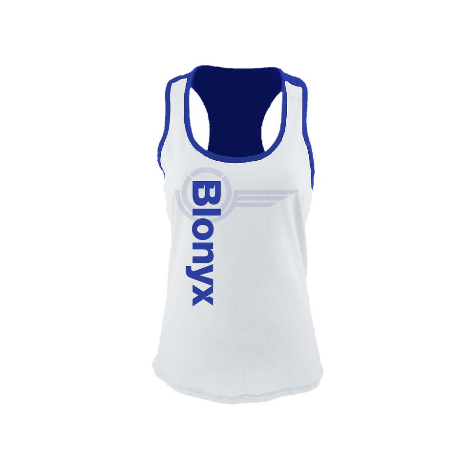 Blonyx S15 Women's Tank - White/Royal