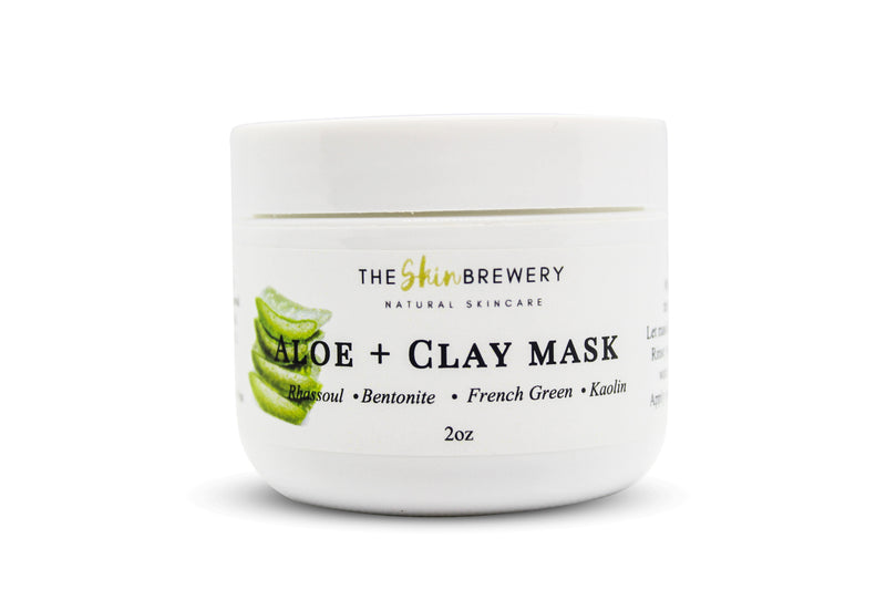 Aloe and Clay Facial Mask - The Skin Brewery