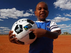 jinta fair trade football