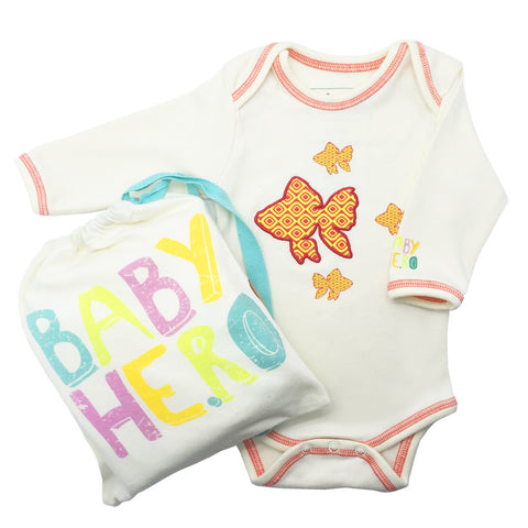 Fish Onesie Short-Sleeve - Baby Hero - 4