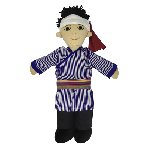 Lisu Doll - Boy - Fair-Trade Toy - Baby Hero