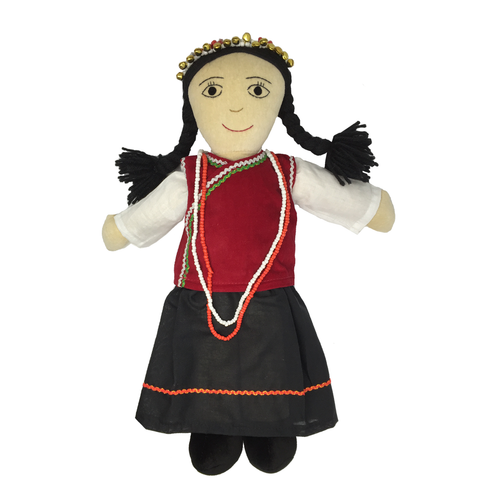 Lisu Doll - Girl - Fair-Trade Toy - Baby Hero