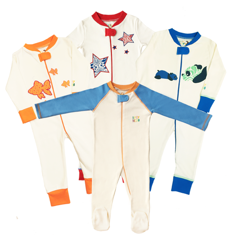 Four Fabulous Footies Gift Set - Baby Hero - 2