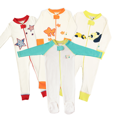 Four Fabulous Footies Gift Set - Baby Hero - 1