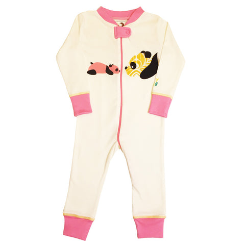 Animals Galore! Gift Set - Girl - Onesies/Footies/Toy - 100% Organic, Fair-Trade - Baby Hero - 7