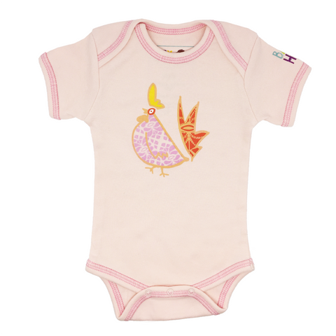 Ultimate Year of the Rooster Gift Set - Pink - Onesies + Book + Toy