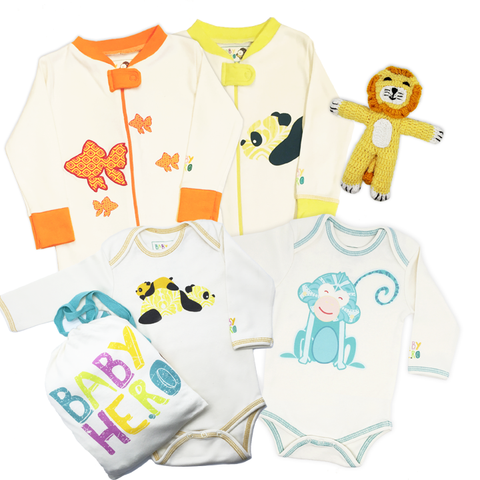 Animals Galore! Unisex Gift Set - Baby Hero - 1